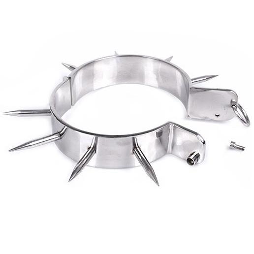Metal Hard - Metalhard Collar Esclavo Bdsm Con Puntas