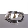 Metal Hard Metalhard Collar Restringidor Con Anilla