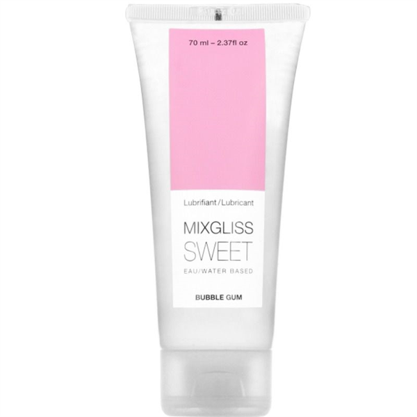 Mixgliss - Sweet Lubricante Base Agua Sabor A Chicle 70 Ml