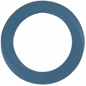 Mjuze Anillo Para Pene Silicona Infinity Delgado Azul