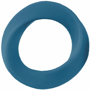 Mjuze Anillo Para Pene Silicona Infinity Xl Azul