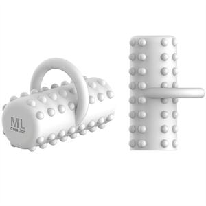 Ml Creation Potente Dedal Vibrador Recargable Blanco