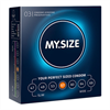 My.Size My Size Natural Condom Latex 57mm 3 Uds