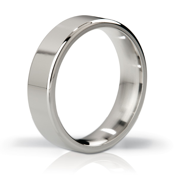 Mystim - MYSTIM THE DUKE - EDGED COCK RING, 55 MM, POLISHED