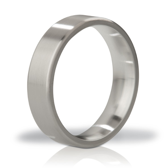 Mystim - MYSTIM THE DUKE - EDGED COCK RING, 55 MM, BRUSHED