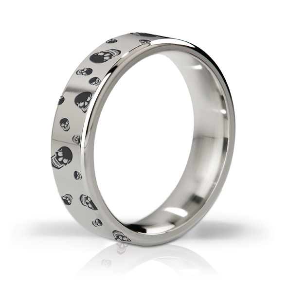 Mystim - MYSTIM THE DUKE - EDGED COCK RING, 48 MM, ENGRAVED