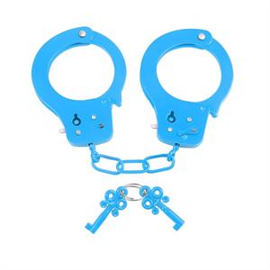 Neon Esposas Metal Azul