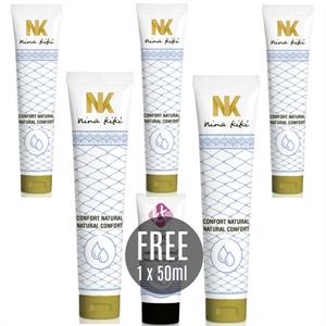 Nina Kikí Lubricante Natural Confort 125ml 5 + Kiki Travel  Gratis