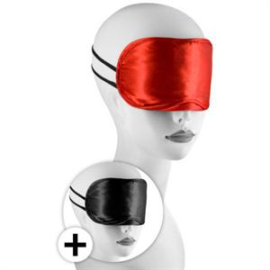 Nmc Kit 2 Antifazes Rojo Y Negro