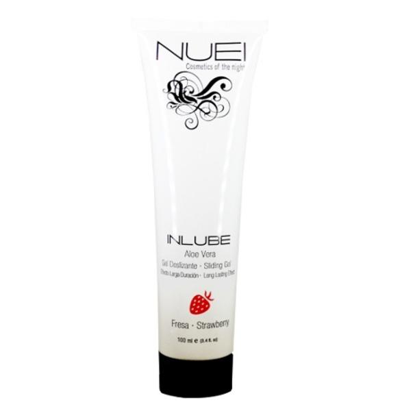 Nuei - Nuei Lubricante a Base de Agua Inlube Fresa 100 ml