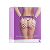 Ouch! - Ouch Esposas Leather Ajustables Lila