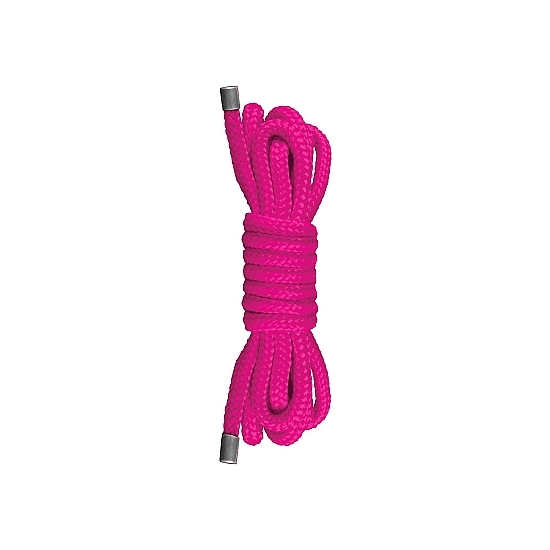 Ouch! Cuerda Mini Japonesa Color Rosa 1,5 m.