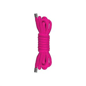 Ouch! Cuerda Mini Japonesa Color Rosa 1,5 m.