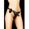 Ouch! Ouch Vibrating Arnes Negro 11 Cm
