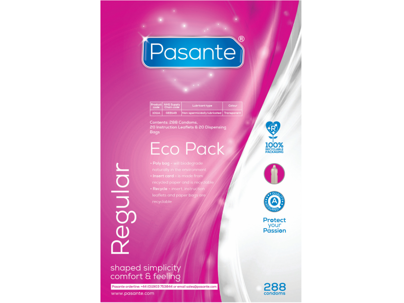 Pasante Regular Natural Eco Pack 288