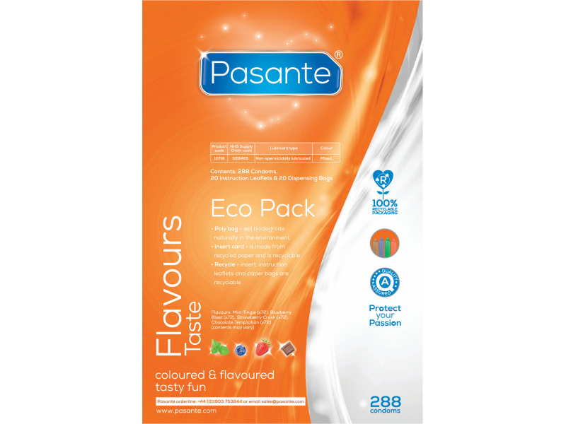Pasante - Flavours Eco Pack (Sabores)