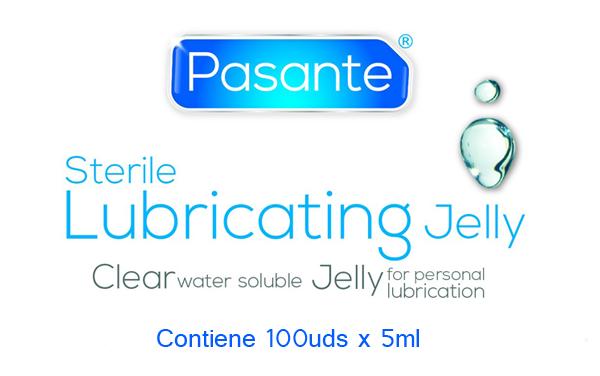 Pasante - Lubricante Estéril (Jelly) Monodosis 5ml (100 uds)