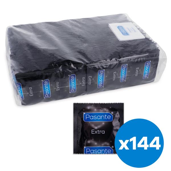 Pasante - Pasante Extra Preservativo Extra Gruesos 144 Unidades