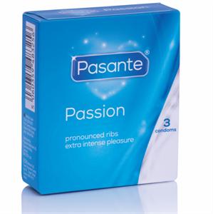 Pasante Preservativos Punteados Más Placer  3 Unidades