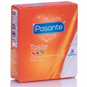 Pasante Preservativos Sabores 3 Unidades