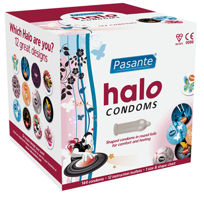 Pasante Halo Condoms Granel (últimas existencias)