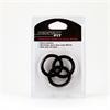Perfect Fit - Ajuste perfecto - Silicona 3 Anillo Kit XL Negro