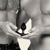 Perfect Fit - Ajuste perfecto - Strap On Butt Plug Pequeño Negro
