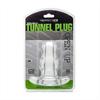 Perfect Fit - Doble Túnel Plug Transparente Mediano