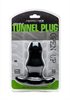 Perfect Fit - Perfectfit Double Tunnel Plug Mediano Negro