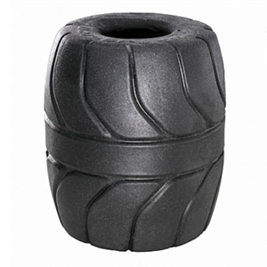 Perfect Fit Silaskin Ball Stretcher 5cm Negro