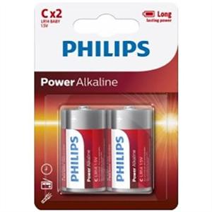 Phillips Philips Power Alkaline Pila C Lr14 Blister*2