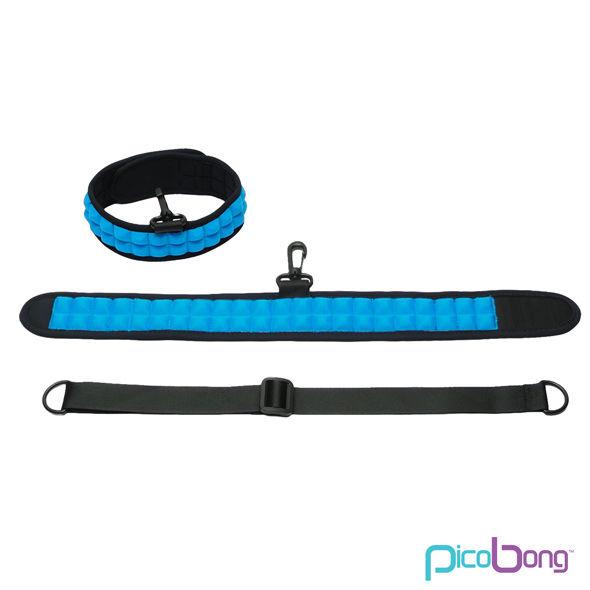Picobong - Picobong Speak No Evil Choker Collar Azul