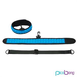 Picobong Speak No Evil Choker Collar Azul