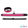 Picobong Speak No Evil Choker Collar Rosa