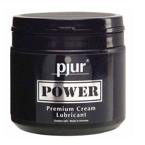 Pjur - Pjur Power Premium Cream Personal Lubricant 500 Ml