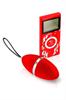 Plaisir Secret Huevo Remoto Vibrador (Rojo)