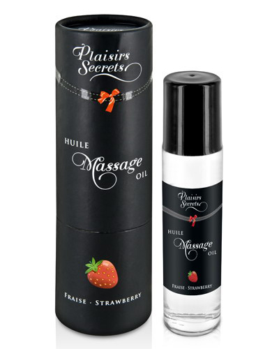 Plaisir Secret Aceite Masaje Fresa 50ml.