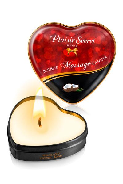 Plaisir Secret Vela De Masaje De Coco - Pack 5 unidades