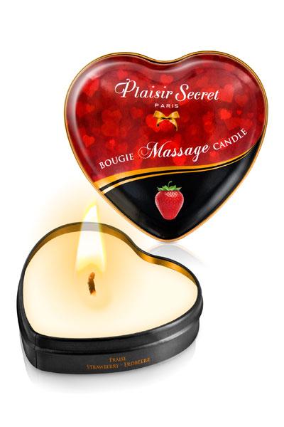 Plaisir Secret Vela de Masaje de Fresa - Pack 5 unidades