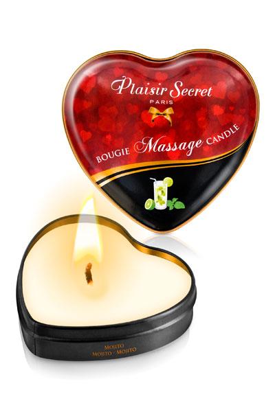Plaisir Secret Vela de masaje de Mojito - Pack 5 unidades