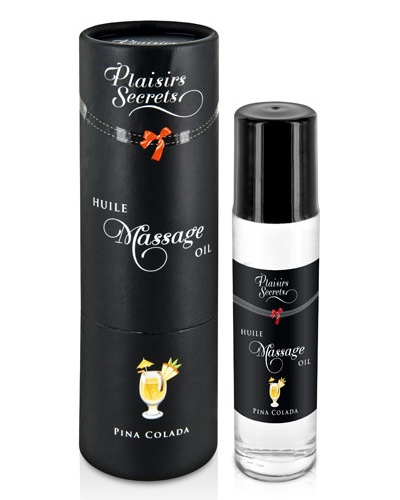 Plaisir Secret - Aceite Masaje Piña Colada 50ml.