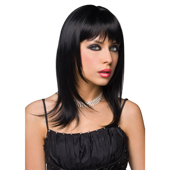 Pleasure Wigs - Peluca Steph - Negro