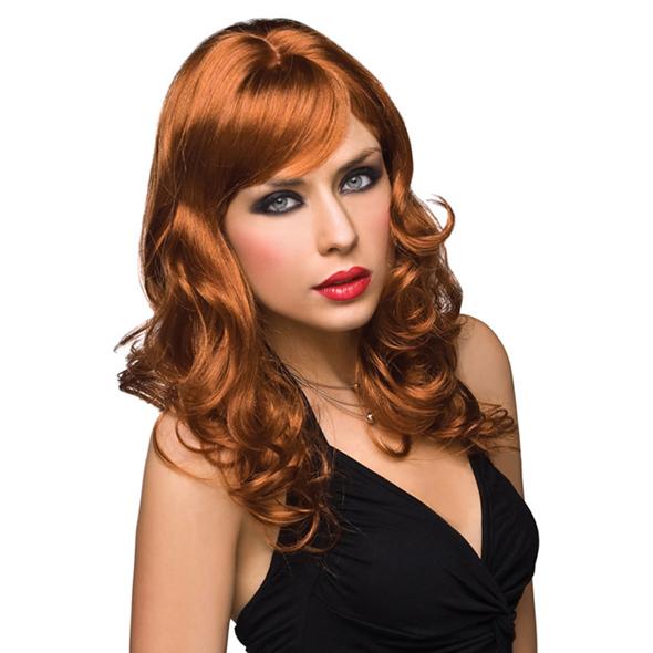 Pleasure Wigs - Peluca Aubrey - Rojo