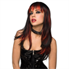 Pleasure Wigs Courtney peluca - Negro con rojo quemado