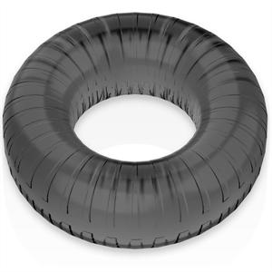 Powering Super Flexible Y Resistente Anillo Pene  4.5cm Pr07 Negro