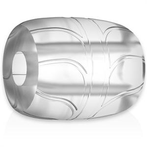 Powering Super Flexible Y Resistente Anillo Pene  5cm Pr11 Clear