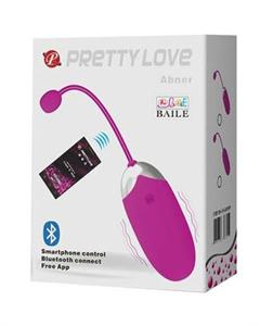 Pretty Love Abner Huevo Vibrador por Control Remoto
