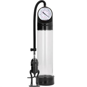 Pumped - Bomba De Ereccion Con Sistema De Medicion Avanzado - Transparente