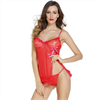 Queen Lingerie  2 Pieces Set Babydoll And Thong Size L