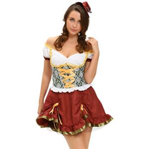 Queen Lingerie Queen Costume Octoberfest Size M